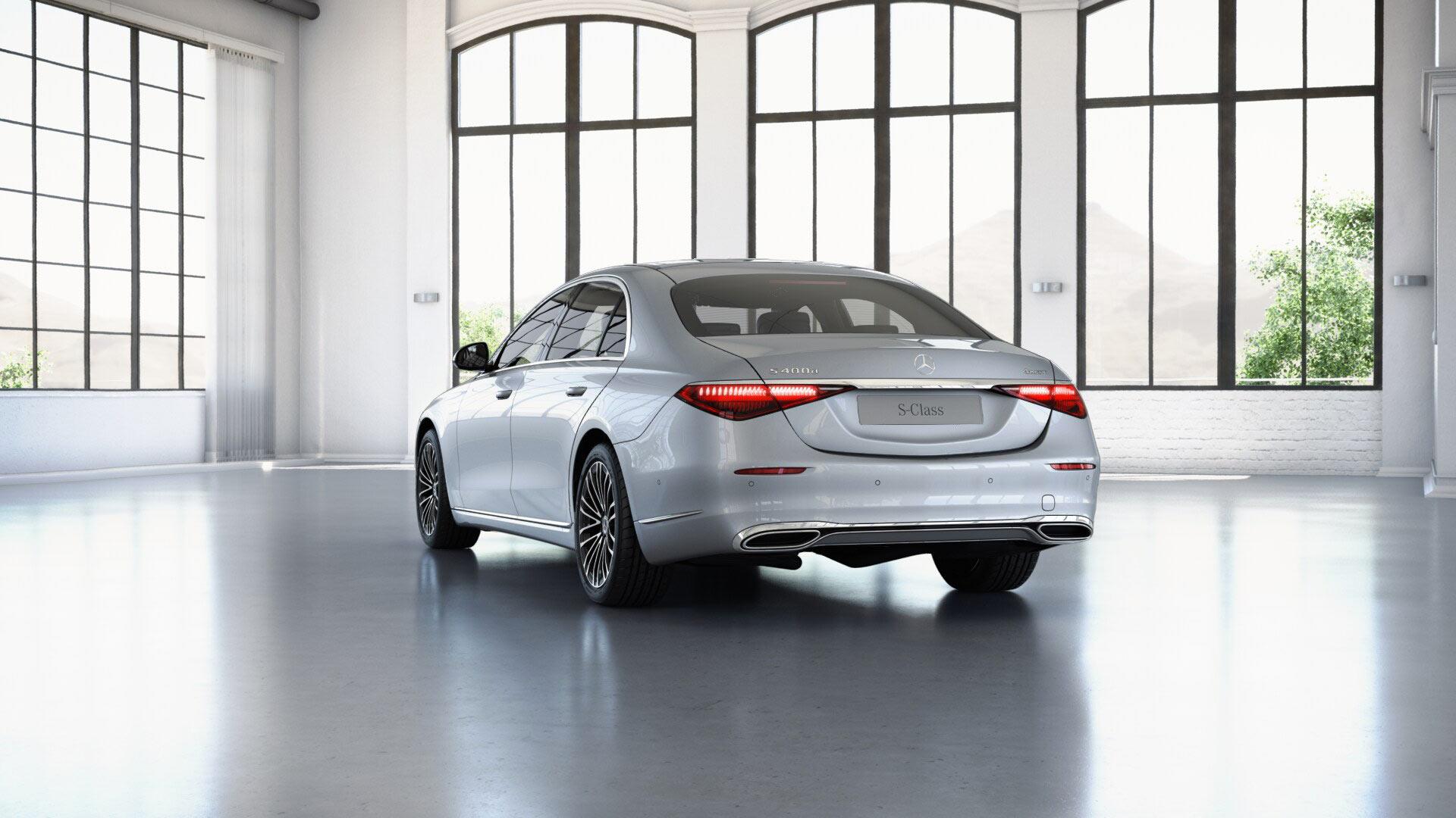 Jantes de la Mercedes-benz Classe S Limousine Finition Business