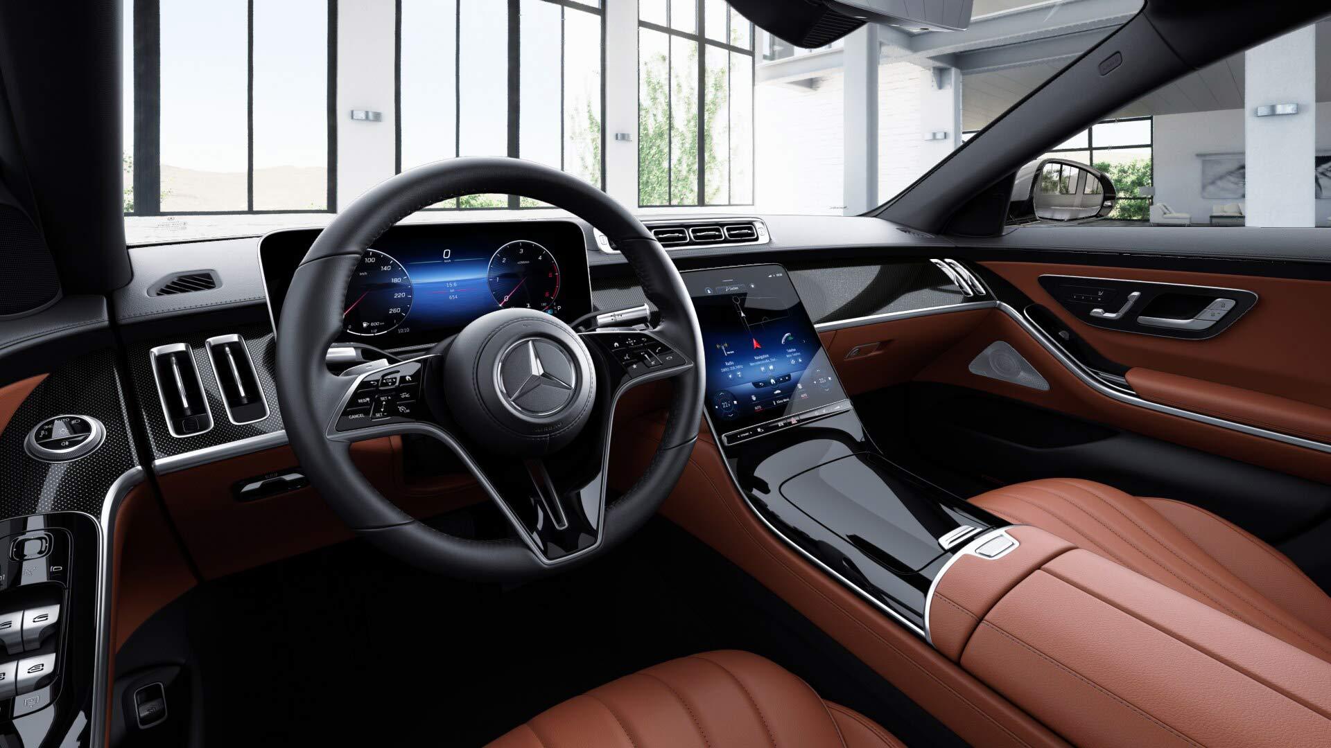 Intérieur de la Mercedes Classe S Limousine Finition Business