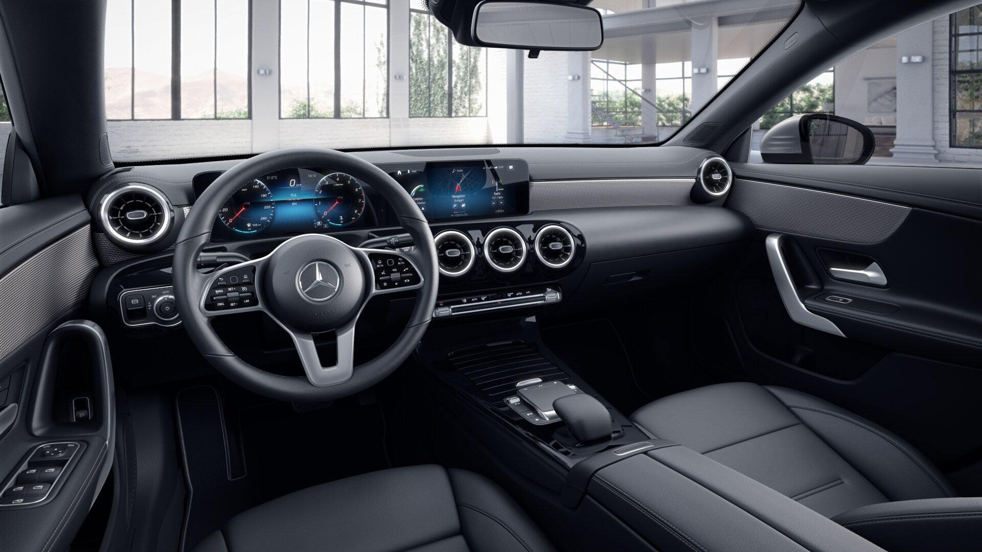 Sellerie de la Mercedes CLA Finition Style