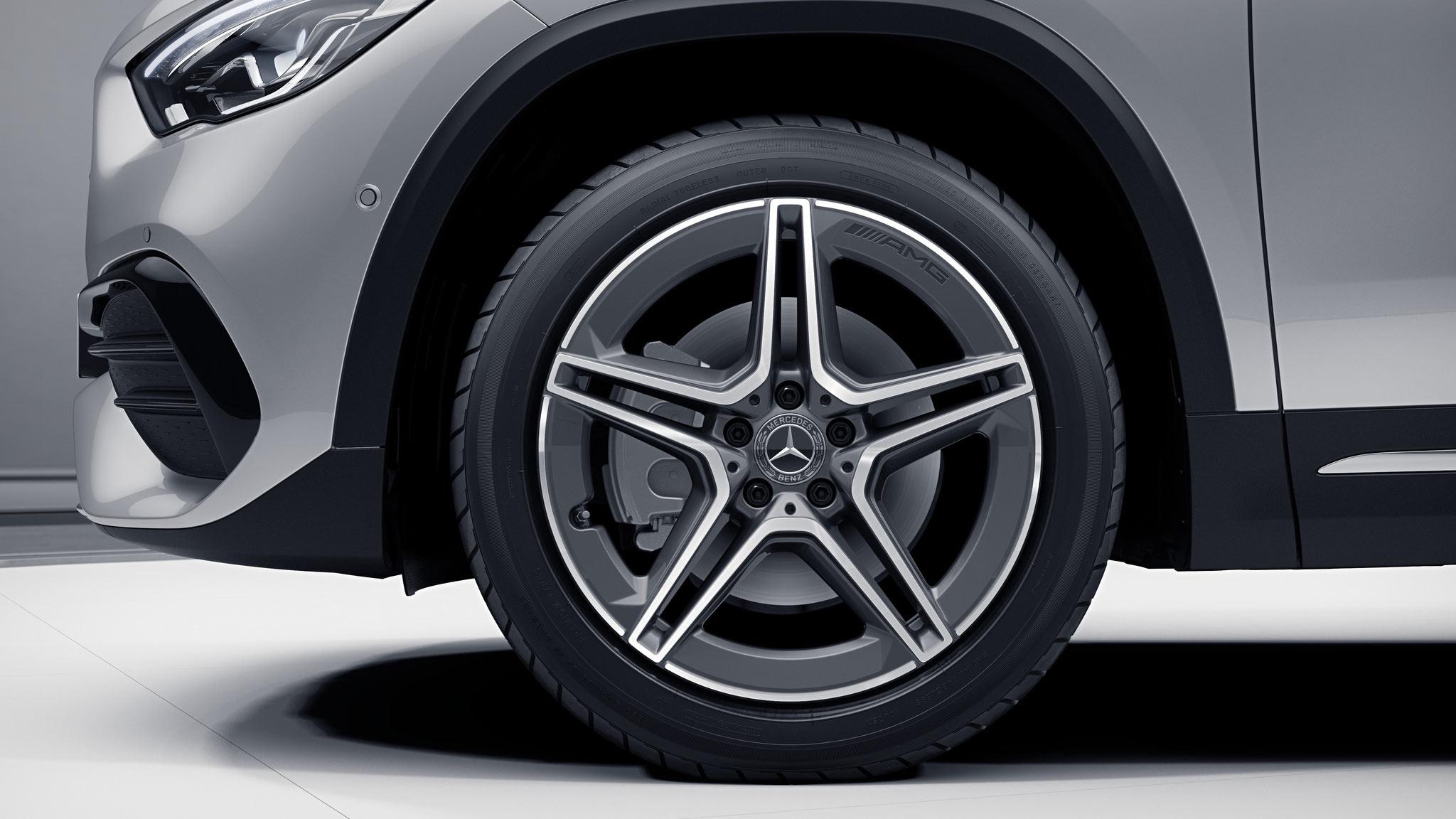 Jantes de la Mercedes-Benz GLA Finition - AMG Line