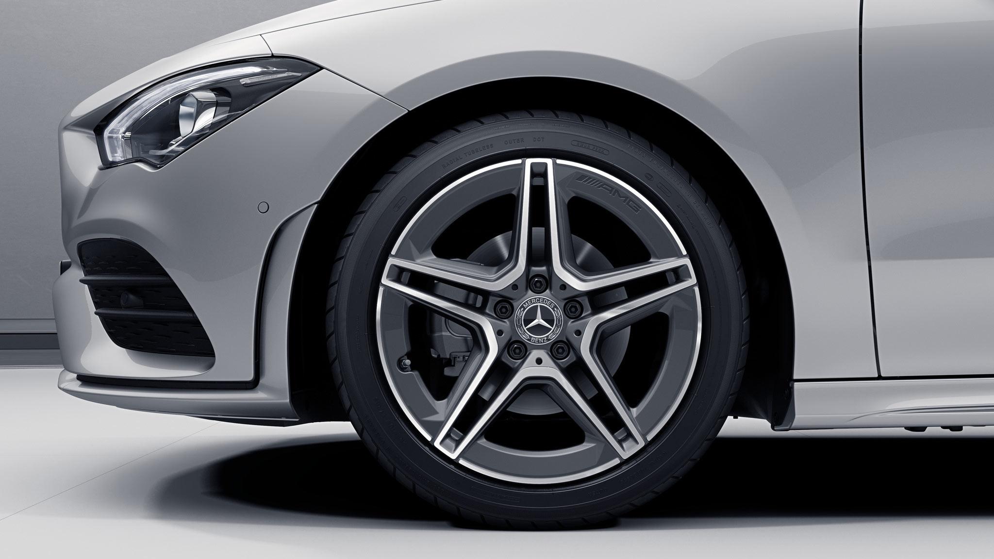 Jantes de la Mercedes-Benz CLA Finition AMG Line