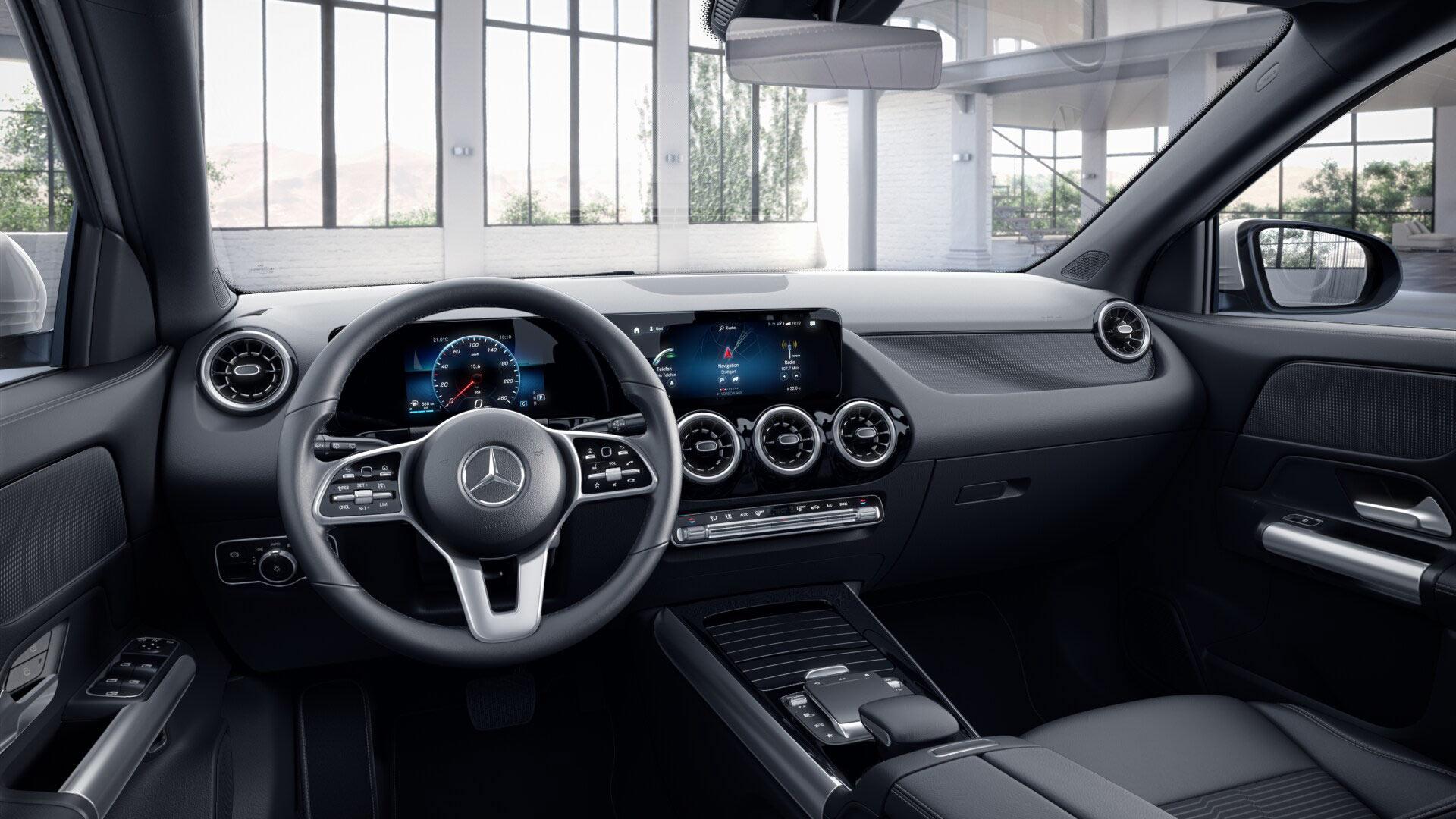 Intérieur de la Mercedes GLA Finition Progressive