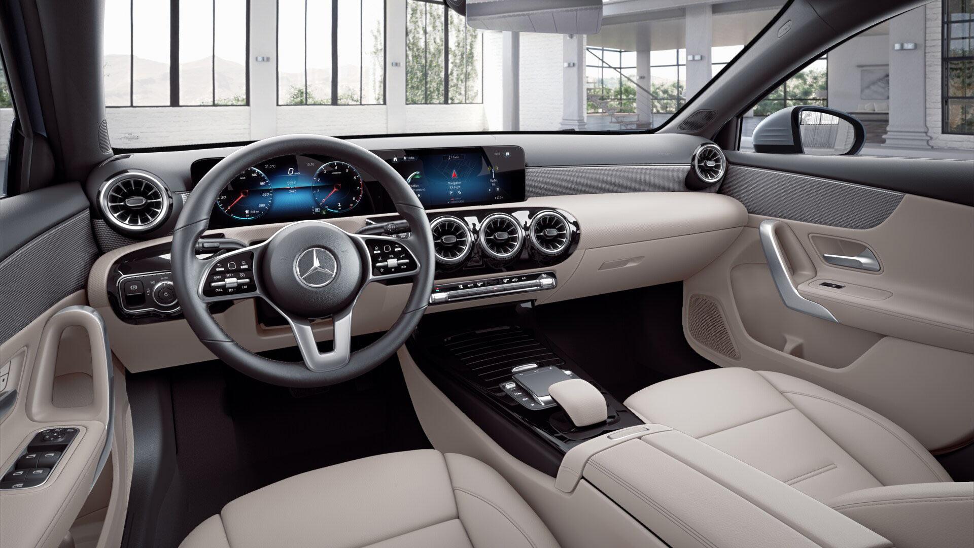 intérieur de la Mercedes Classe A Finition Style