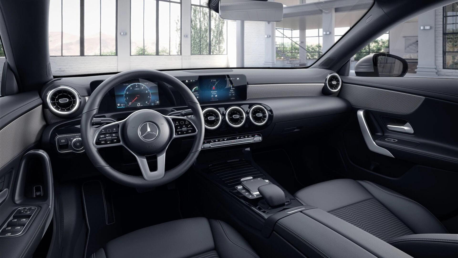 Sellerie de la Mercedes CLA - Finition Progressive