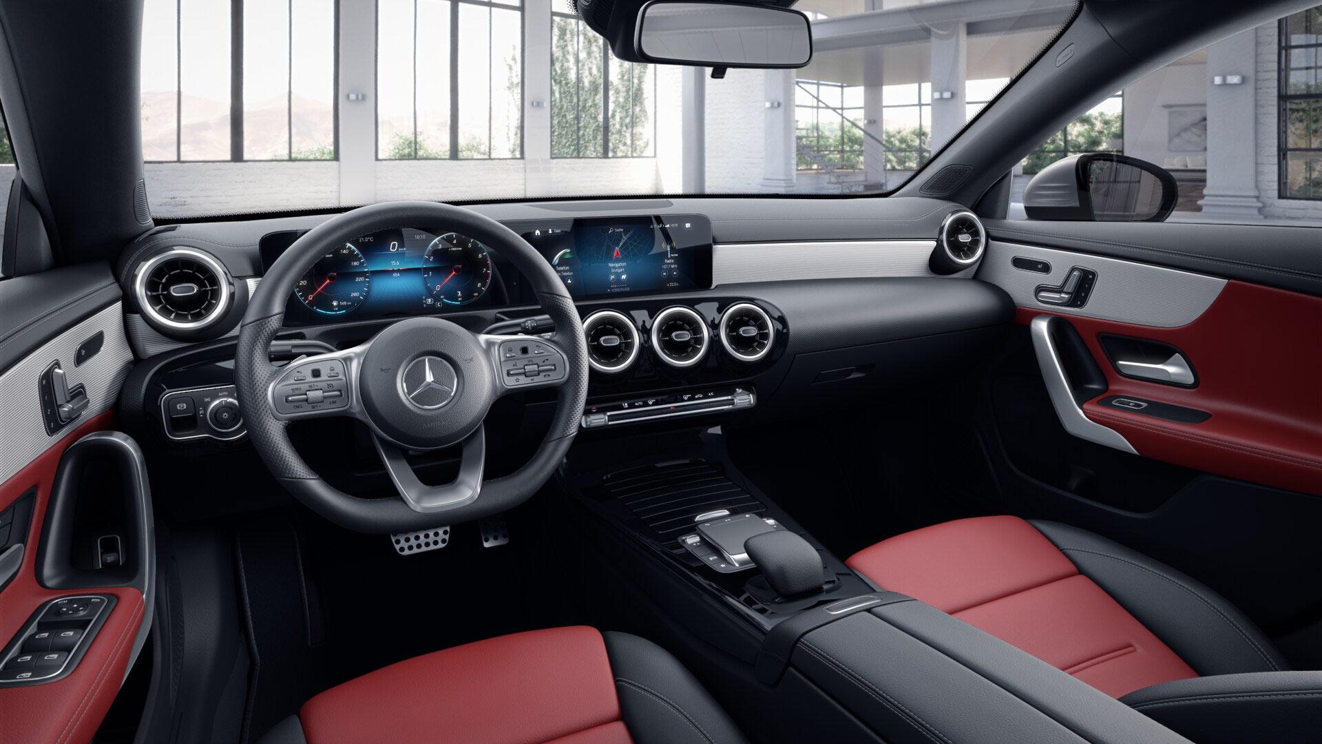 Sellerie de la Mercedes CLA Finition AMG  line plus